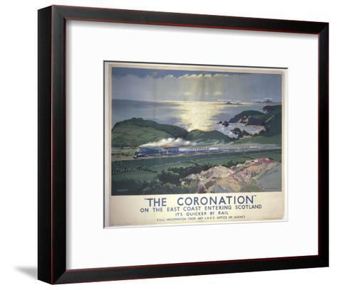 The Coronation--Framed Art Print