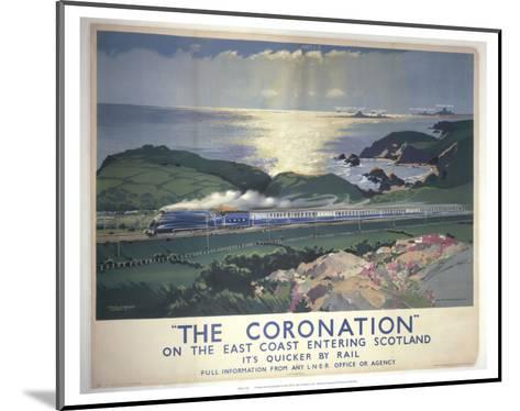 The Coronation--Mounted Art Print