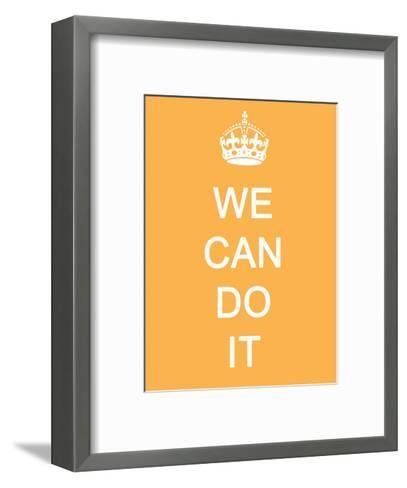 We Can Do It--Framed Art Print