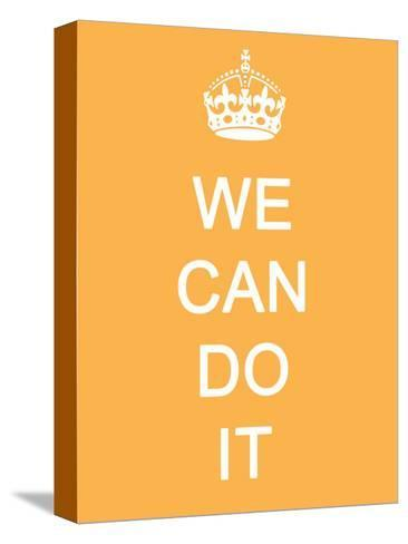 We Can Do It--Stretched Canvas Print
