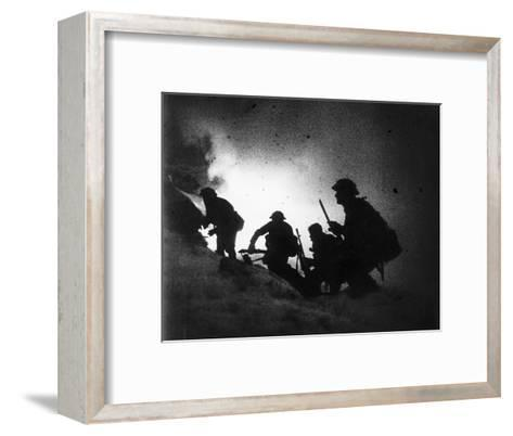 World War Battlefield--Framed Art Print