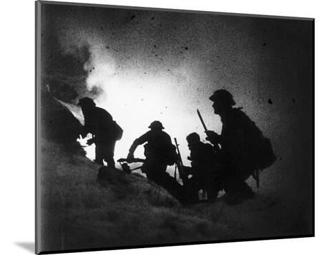 World War Battlefield--Mounted Art Print