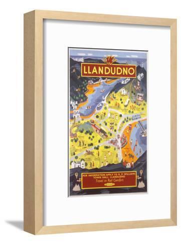 Llandudno for Information--Framed Art Print