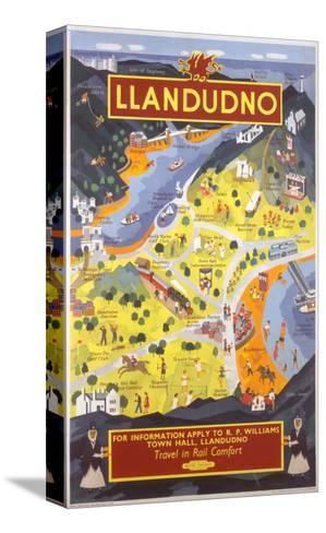 Llandudno for Information--Stretched Canvas Print