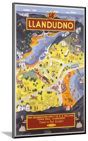 Llandudno for Information--Mounted Art Print