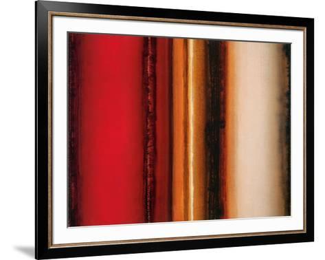 Red River Sunset-Joel Holsinger-Framed Art Print