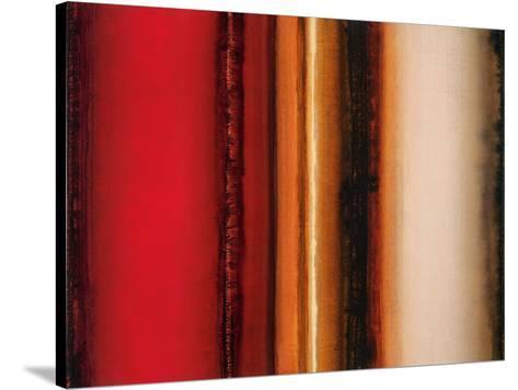 Red River Sunset-Joel Holsinger-Stretched Canvas Print