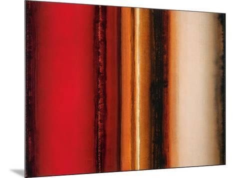 Red River Sunset-Joel Holsinger-Mounted Art Print