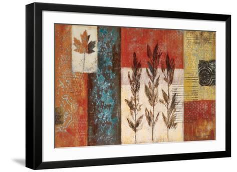 Patina Garden I-Jodi Reeb-myers-Framed Art Print