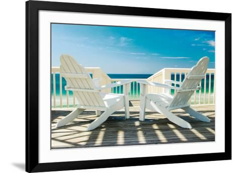 Deck Chairs-Doug Cavanah-Framed Art Print