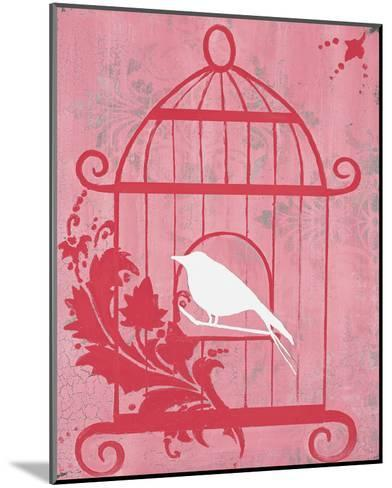 Pink Cage I-Hakimipour-ritter-Mounted Art Print
