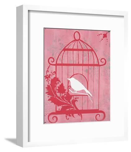 Pink Cage I-Hakimipour-ritter-Framed Art Print