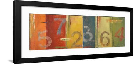 Lucky Numbers I-Patricia Pinto-Framed Art Print