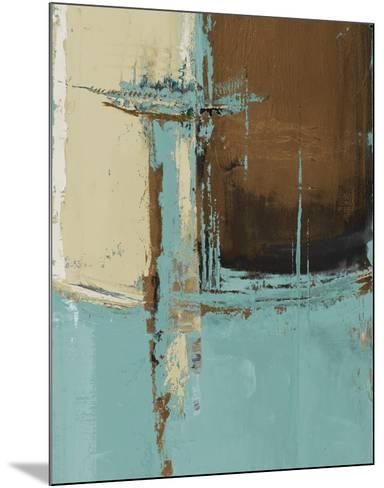 Oxido on Teal I-Patricia Pinto-Mounted Art Print