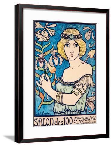 Salon des 100--Framed Art Print