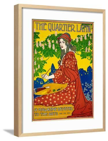 The Quartier Latin--Framed Art Print