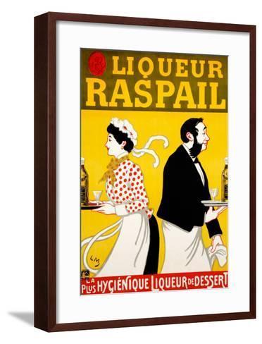 Liqueur Raspail--Framed Art Print
