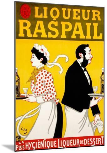 Liqueur Raspail--Mounted Giclee Print
