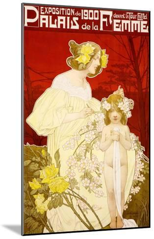 Palais de la Femme--Mounted Giclee Print