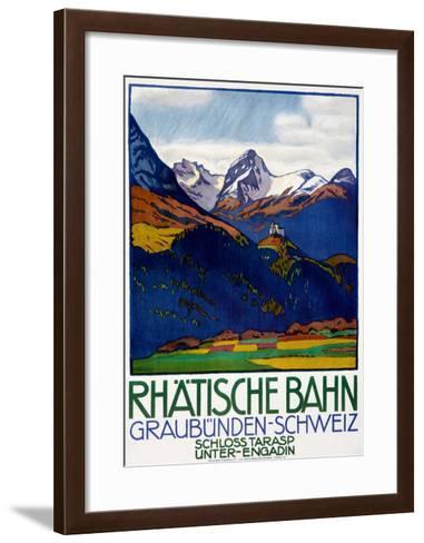 Rhatisce Bahn--Framed Art Print
