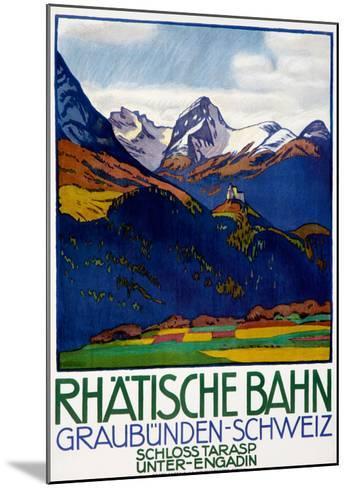 Rhatisce Bahn--Mounted Giclee Print