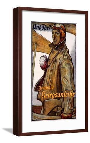 Zeichnet Kriegsanleihe--Framed Art Print