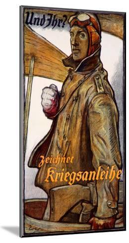 Zeichnet Kriegsanleihe--Mounted Giclee Print