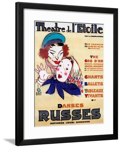 Danses Russes--Framed Art Print
