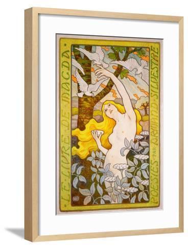 Le Livre de Magda--Framed Art Print
