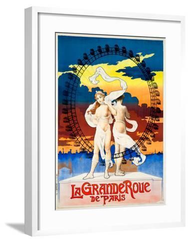 La Grande Roue de Paris--Framed Art Print