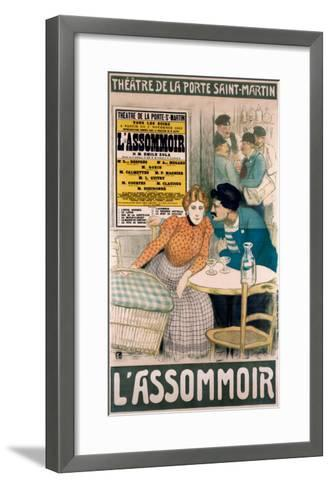 L'Assommoir--Framed Art Print