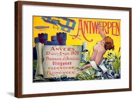 Antwerpen--Framed Art Print
