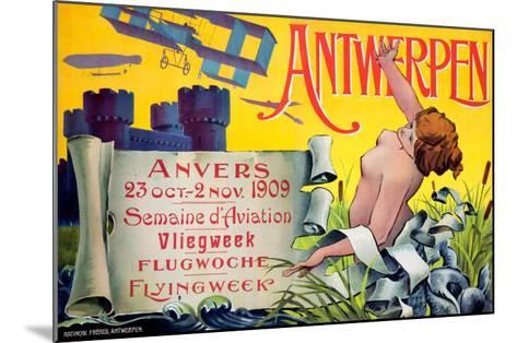 Antwerpen--Mounted Giclee Print