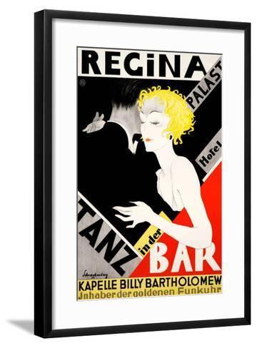 Regina Palast Hotel--Framed Art Print