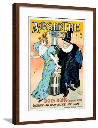 Absinthe Parisienne--Framed Art Print