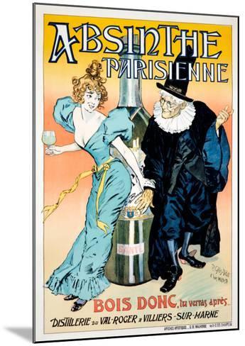 Absinthe Parisienne--Mounted Giclee Print
