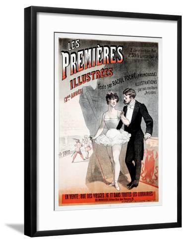 Les Premieres Illustrees--Framed Art Print