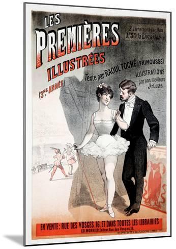Les Premieres Illustrees--Mounted Giclee Print