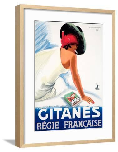 Gitanes--Framed Art Print