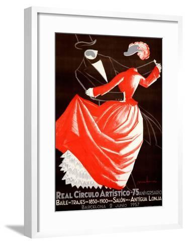 Real Circulo Artistico--Framed Art Print