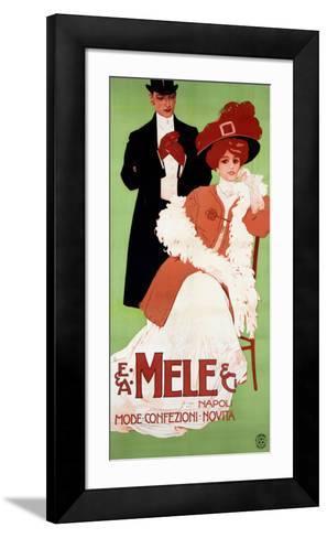 Mele Napoli, Mode Confezioni Novita--Framed Art Print