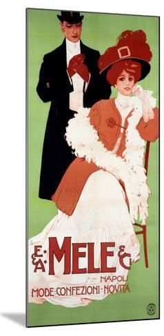 Mele Napoli, Mode Confezioni Novita--Mounted Giclee Print