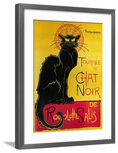 Tournée du Chat Noir, c.1896-Th?ophile Alexandre Steinlen-Framed Art Print