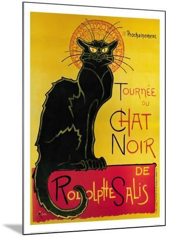 Tournée du Chat Noir, c.1896-Th?ophile Alexandre Steinlen-Mounted Art Print