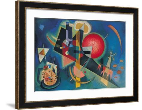 Im Blau-Wassily Kandinsky-Framed Art Print