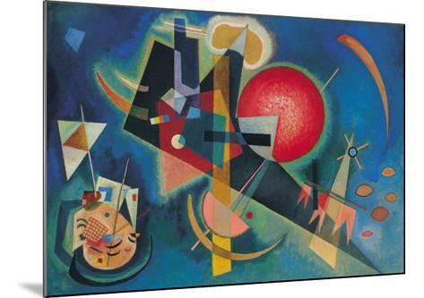 Im Blau-Wassily Kandinsky-Mounted Art Print
