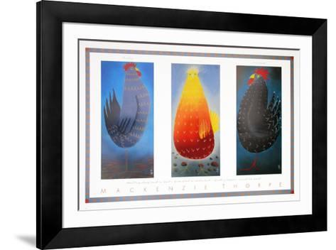 Hayley, Lorraine and Lawrence-Mackenzie Thorpe-Framed Art Print