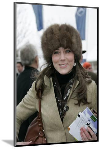 Kate Middleton at the Cheltenham Festival on Gold Cup Day--Mounted Art Print