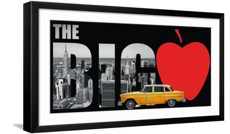 The Big Apple- Torag-Framed Art Print