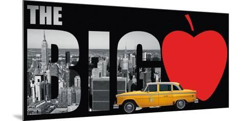 The Big Apple- Torag-Mounted Art Print